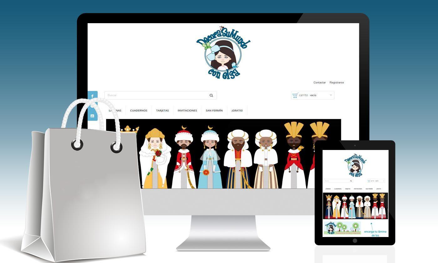 Tienda online decora su mundo con elsa